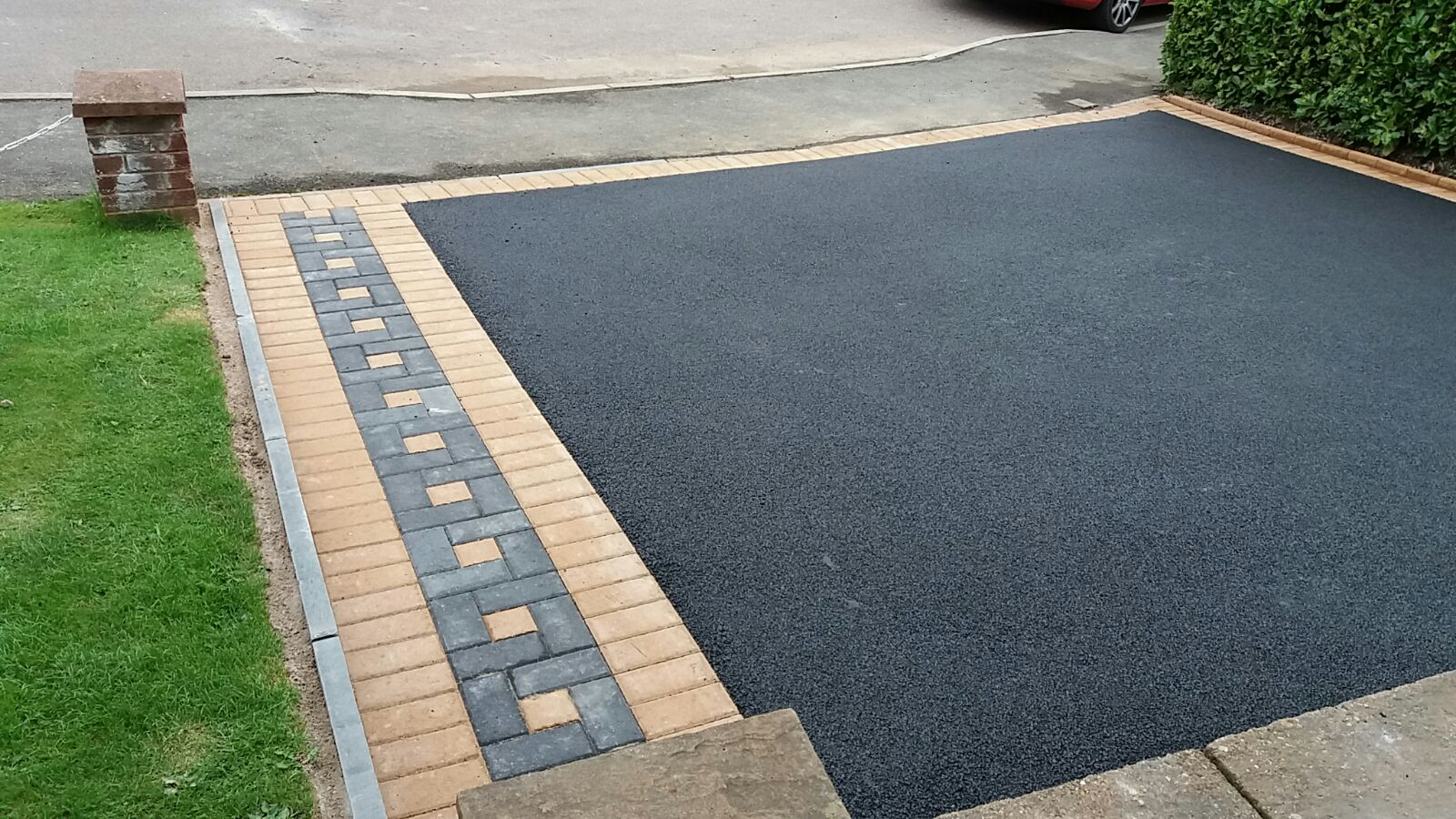 Edged Tarmac
