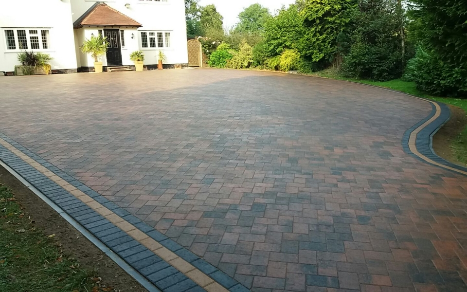 New Block Paving Driveway Chesterfield