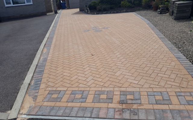 After Block Paving