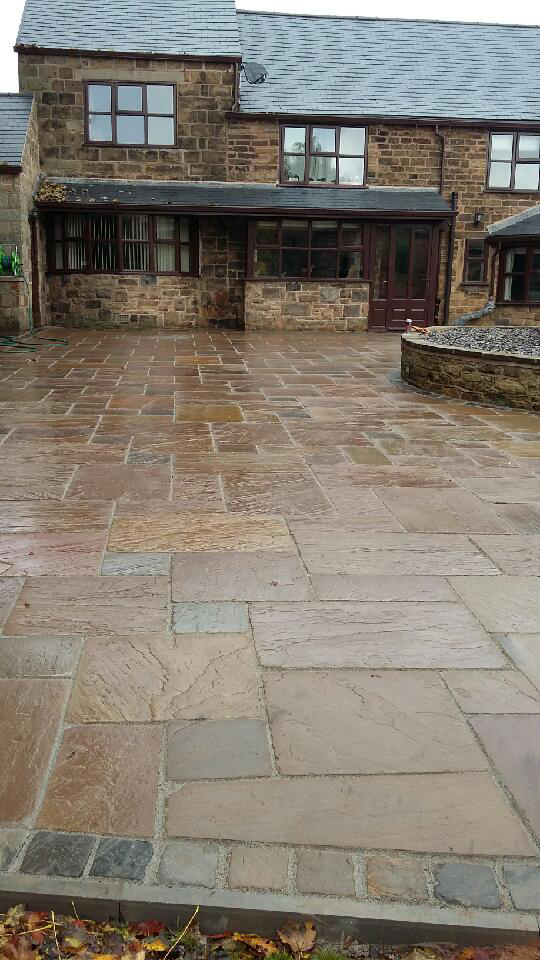 Patio Installation Mansfield
