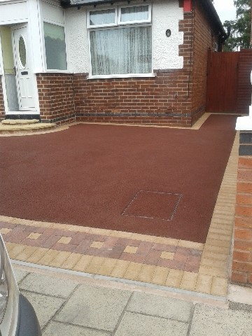 Red Tarmac Driveways