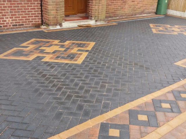 Patterned Block Paving Rotherham