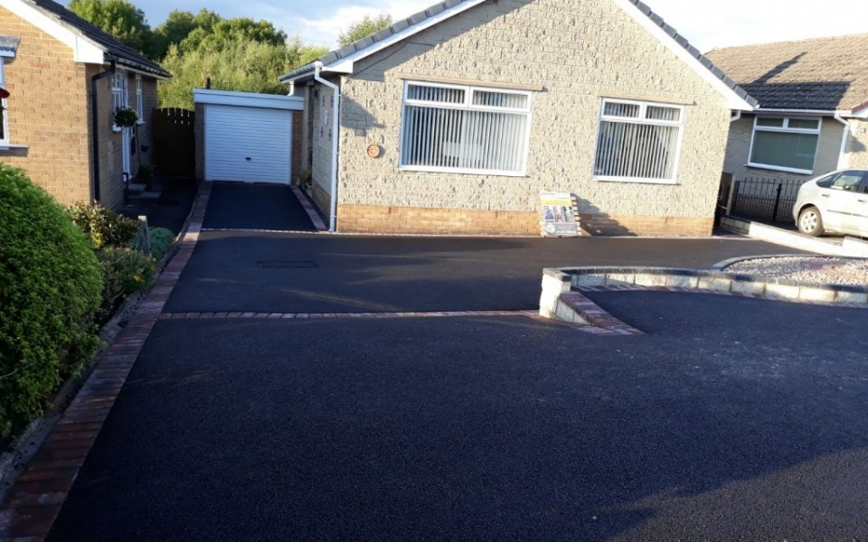 Completed Tarmac Driveway