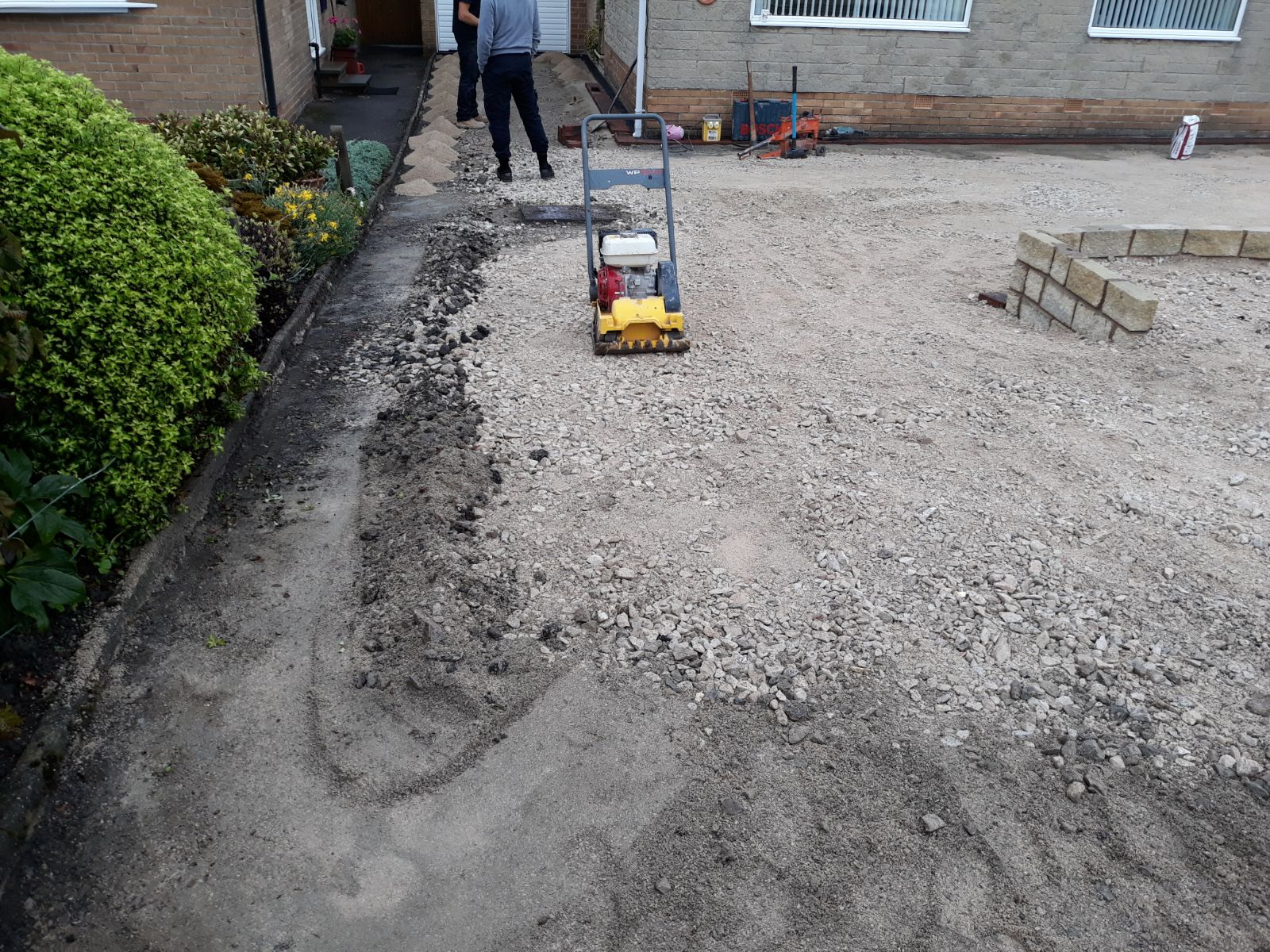 Installation Of Tarmac