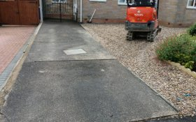 Completed Block Paving