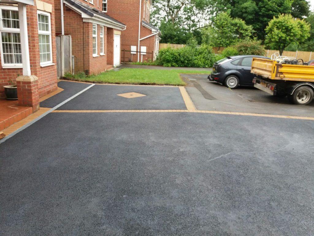 new-tarmac-driveway-after